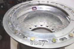 Weld Wide 5 Aluminum Beadlock Wheel Dirt Late Model Imca Wissota Real Ump 12 78