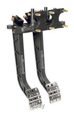 Wilwood Dual Pedal Assembly With 3 Master Cylinders, UMP, IMCA, Dirt Late Model