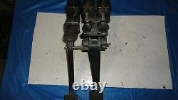 Wilwood brake and clutch hanging pedals ump imca asa ara dirt late model tilton