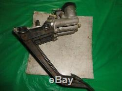 Wilwood brake and clutch pedal ump imca dirt late model tilton howe hanging asa