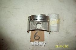 Wiseco Chevy pistons dome NOS modified, dirt late model. Wisotta