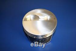 Wiseco K0094B3 Pro Dirt Late Model SBC Chevy LM Flat Top Forged Piston 4.030