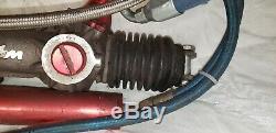 Woodward Power Rack & Pinion w Servo & Lines Dirt Asphalt Late Model DW