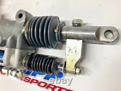 Woodward Rack and Pinion Power Steering Gear with Servo Dirt Late Model